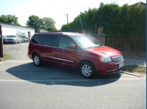 Chrysler Town Country 3,6 DVD Kůže 2012